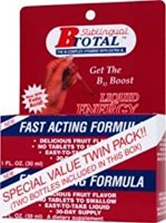 Sublingual Products B-Total Twin Pack -- 2 fl oz - 3PC