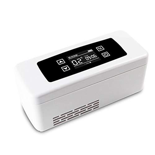 ZYFA Medicijnkoeler, temperatuurregeling, draagbare Home-Travel gekoelde box, draagbare koelbox