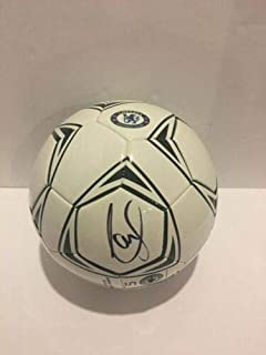 chelsea signed football ball