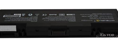 7200 mAh 11.1V Originale Mitsuru® Batteria ad Alta Capacità per PC portatili Dell Inspiron 1520, 1521, 1720, 1721, 1700, 1500 Serie P.N.: 312-0594 312-0595 451-10476 451-10477 FK890 FP282 GK479 NR239