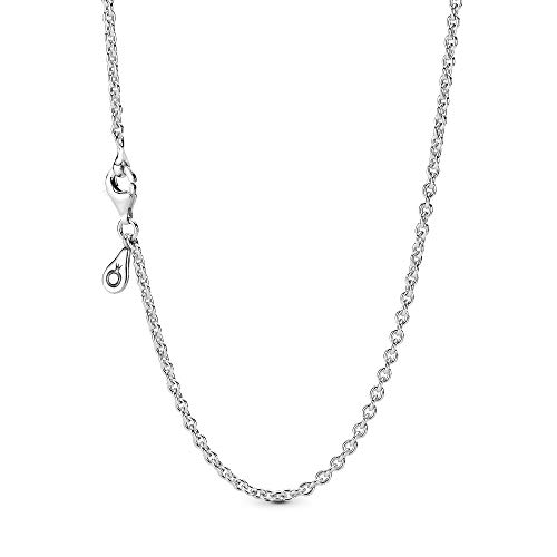 Pandora Jewelry Silver Chain Sterling Silver Necklace, 23.6