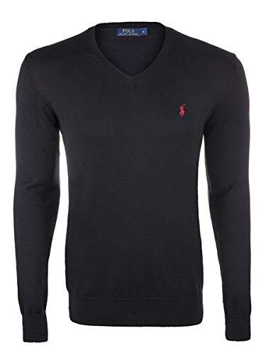 Ralph Lauren Herren Pullover (XL, Schwarz)