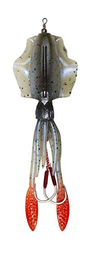 Lunkerhunt Mantle Pre-Rigged Tintenfisch – Ika 13,3 cm, 1 1/2 oz