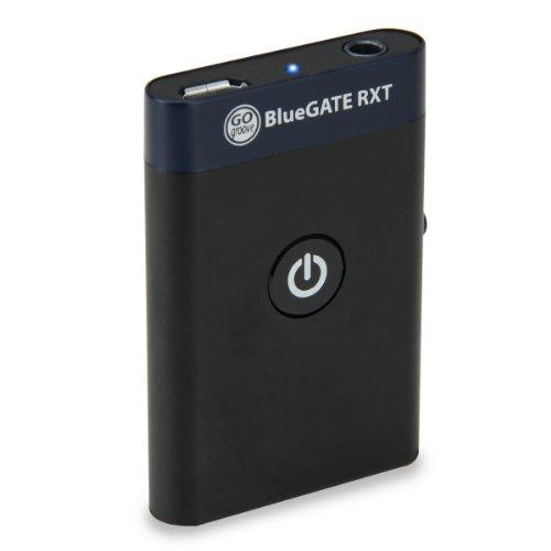 GOgroove BlueGATE RXT Récepteur Transmetteur Bluetooth 2-en-1 sans Fil avec Sortie Stéréo 3.5mm Bluetooth, Adaptateur RCA et 11 Heure de Batterie