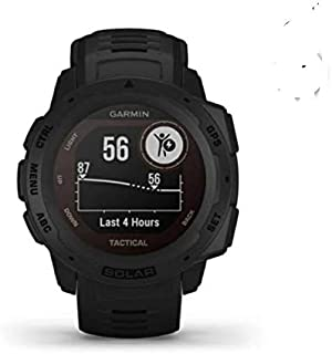 Garmin GM-010-02293-45 Instinct Solar Tactical Edition Smartwatch, Black