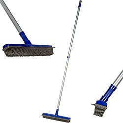 Fox Trot Fur Buster Rubber Broom