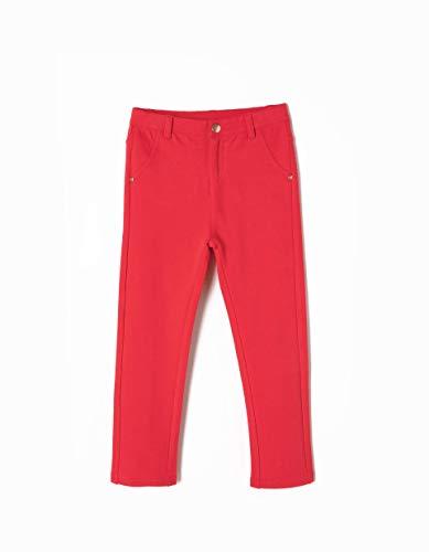 ZIPPY Pantalón Estilo Leggings, Rojo (Lollipop 18/1764 TC 300), 3 años (Tamaño del Fabricante: 2/3) para Niñas