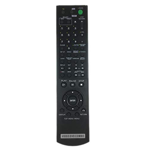 Universal Replacement Remote Control Fit For SLV-D350 SLV-D350P SLV-D360P SLV-D370P SLV-D380 SLV-D380P for Sony DVD/ VCR Combo Player (1 PCS)