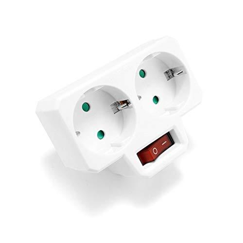 Enchufe europeo de 16A 250 V, regleta de alimentación eléctrica estándar europeo,...
