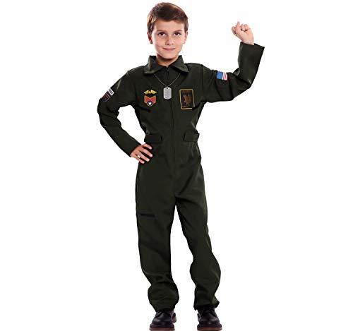 EUROCARNAVALES Disfraz de Piloto de Avión para niño