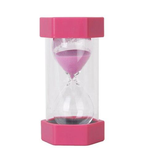 Hourglass Sablier de 30 Minutes de sécurité et à la mode - Rose
