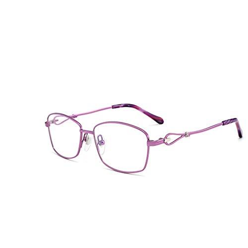 Leesbril voor computer tegen blauw licht voor dames en heren leesbril anti-blauw voor dames ultralichte bril blauw licht blokkering voor hoofdpijn, uv-anti-eyestrain