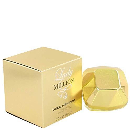Paco Rabanne Lady Million, Eau de Parfum Natural Spray para Mujer, 50 ml