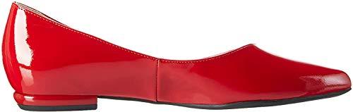 Högl Damen 3-18 0004 4000 Geschlossene Ballerinas, Rot (red4000), 34.5 EU