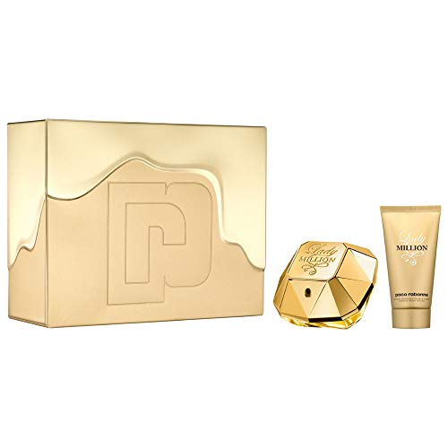 Paco Rabanne Lady Million femme/woman Set (Eau de Parfum (50 ml), Bodylotion (75 ml))