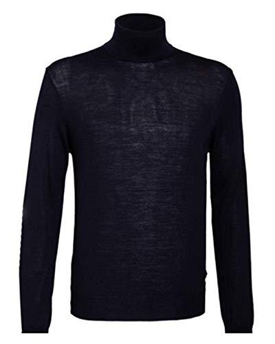 Baldessarini Rocco - Jersey de cuello alto, color negro Negro 56