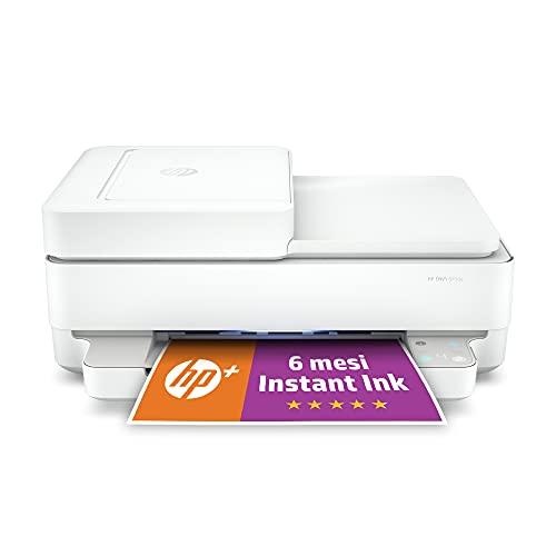 Stampante Multifunzione HP ENVY 6430e - 6 mesi di inchiostro inclusi con HP+