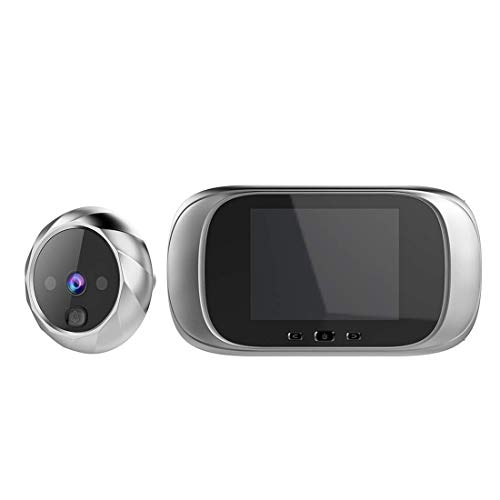 RUIXINBC draadloze video-deurbel met camera, op batterijen werkende en transformator deurbel, infrarood nachtzicht bewegingssensor spreuk