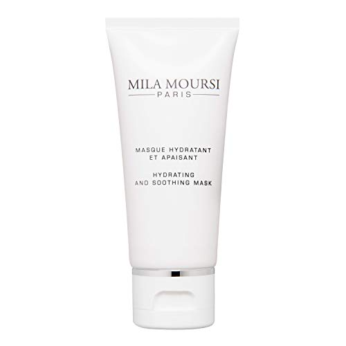 Mila Moursi   Hydrating and Soothing Mask   Spa-Quality Skin Care Face Mask with Multi-Molecular Levels of Hyaluronic Acid to Enhance Skin Firmness, Resiliency, and Radiance   1.7 Fl Oz