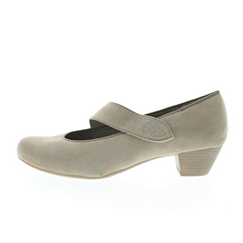 Jenny Damenschuhe Pumps Catania Taupe 226361576 (Fraction_40_and_2_Thirds)