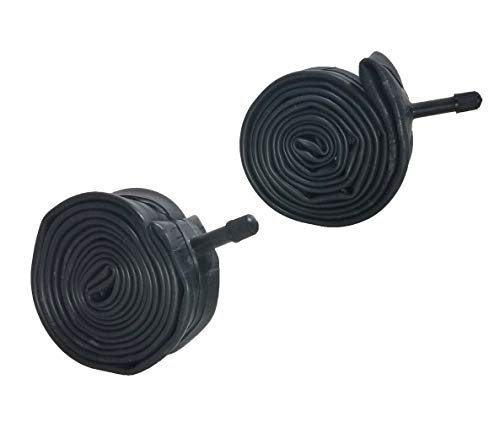 """ZERO250 24x1.75 24"""" Bicycle Inner Tube for Road Bikes Cycling 24 x 1.75- Pair of Tubes"""