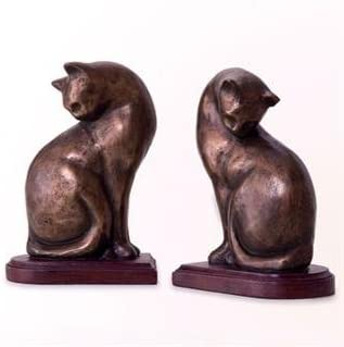 SPI Cat Pair Bookends Limited New arrival price sale