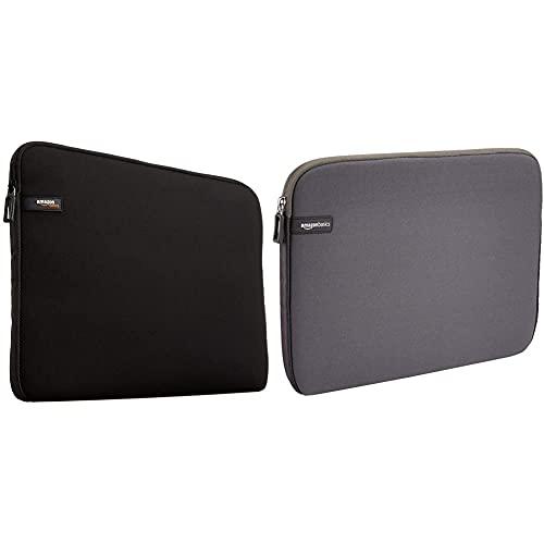 """Amazon Basics Housse pour MacBook Air / MacBook Pro / MacBook Pro Retina / ordinateur portable 33,8 cm (13.3"""") Noir"""