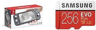 Nintendo Switch Lite グレー + Samsung EVO Plus 256GB microSDXC