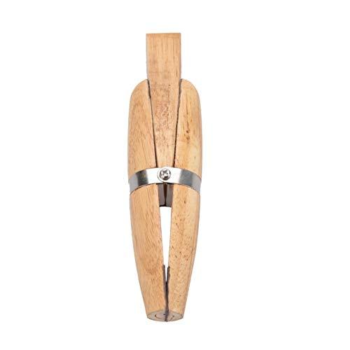 Abrazadera de anillo de madera Herramientas de joyería de un lado plano, para sujetar anillos, para reparar joyas