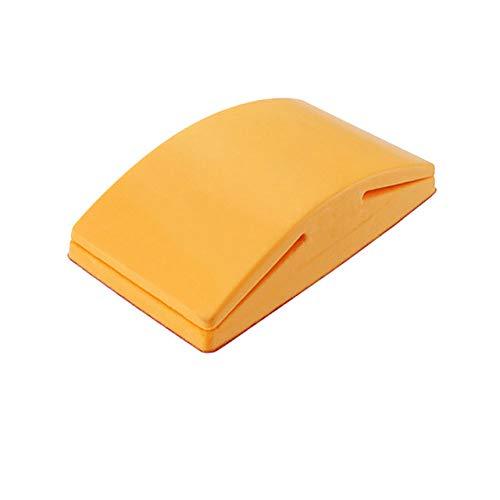 5 Zoll Handbandschleifer Sand Devil Sandpapier Schleifblock Schleifpapier Sandtuchblock Papier Schleifblock neu, D.