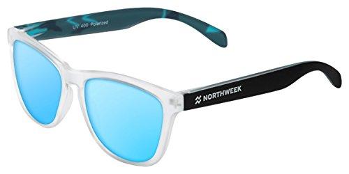 NORTHWEEK Regular Gafas de sol, Camo Blue, 45 Unisex