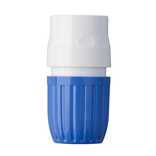 Takagi Manguera 19mm jardín riego Accesorios–Azul/Blanco, 3/4-inch x 3,7x 3,7x 6,7cm
