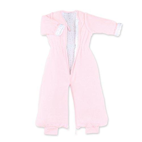 Bemini by Baby Boum 169BMINI54SF Schlafsack, 6-24 M, Softy + Jersey 54 Cristal, rosa
