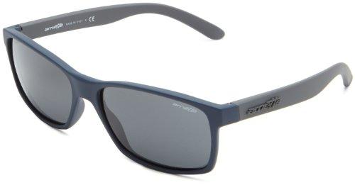 Arnette Herren 0AN4185 218887 58 Sonnenbrille, Blau (Fuzzy Navy/Gray)