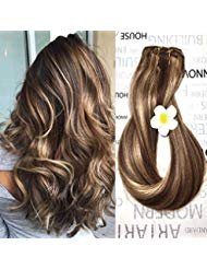 Shebeauty 16 inch Hair Extension for Fine Hair