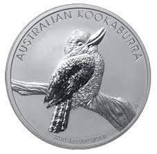 Kookaburra 2010 Silbermünze Silber Münze 1 Unze 1 oz in Münzkapsel