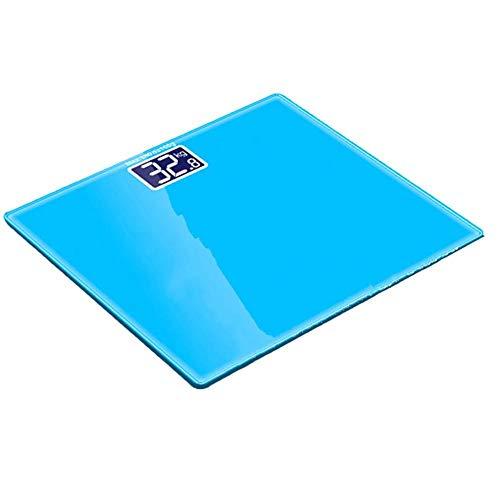180 kg mini elektronische weegschaal LCD-scherm digitaal gewicht weegschaal zeer nauwkeurige reclame personenweegschaal blauw