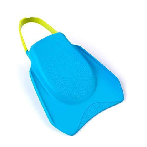 ChengBeautiful Aletas De Natación Aletas paletas for Hombres y Mujeres de Snorkel Pato membranas de Poco Peso Equipo de Snorkel Aletas De Buceo Cómodas (Color : Azul, Size : 26.5cm)