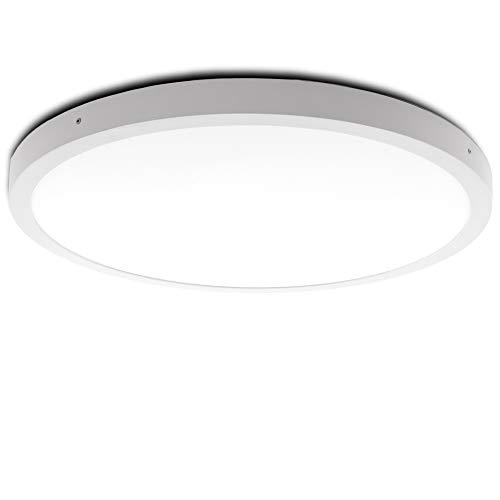 Greenice | Plafón LED Circular Superficie Ø605Mm 48W 3600Lm 30.000H | Downlight...
