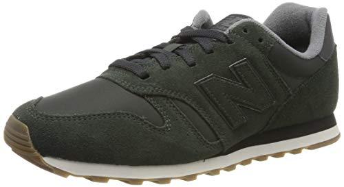 New Balance Herren 373 Sneaker, Grün (Green/Black Green/Black), 36 EU