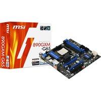 MSI 890GXM-G65 Mainboard Sockel AMD AM 3 4X DDR3 Speicher Micro ATX Retail