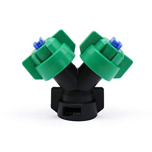 Parts & Accessories 1PCS Agriculture Drone Sprayer Nozzle Assembly Y-Shape Bi-Nozzle High Pressure Double Head Y-Shaped Body Accessories Spray Syste - (Color: Whole Set)