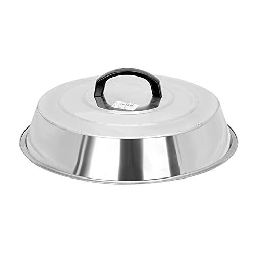 Coperchio della pentola Coperchio in acciaio inox coperchio del coperchio di vetro temperato del coperchio del coperchio del coperchio del coperchio di ricambio di grandi dimensioni Coperchio Universa