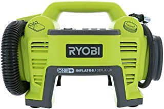 Ryobi P731 One+ 18v Dual Function Power Inflator/Deflator Cordless Air Compressor Kit w/Adapters (Battery Not Included, Tool Only)