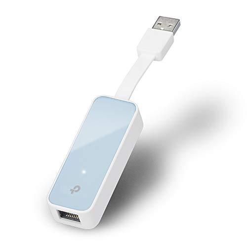 TP-Link UE200 USB-2.0- 10/100Mbit/s-Ethernet-Adapter (mit einklappbarem Kabel, für Apple Macbook Surface Pro XPS, Ultrabook, Chromebook, PC, Mac und weitere)