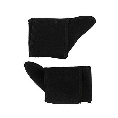 2Pcs Breathable Black Hochwertige Knöchelstütze, Knöchelschutz, zum Laufen, Spielen, Basketball, Radfahren, Gewichtheben