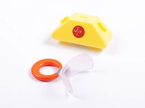 Mundvorhofplatte Standard, klein, transparent/elastisch