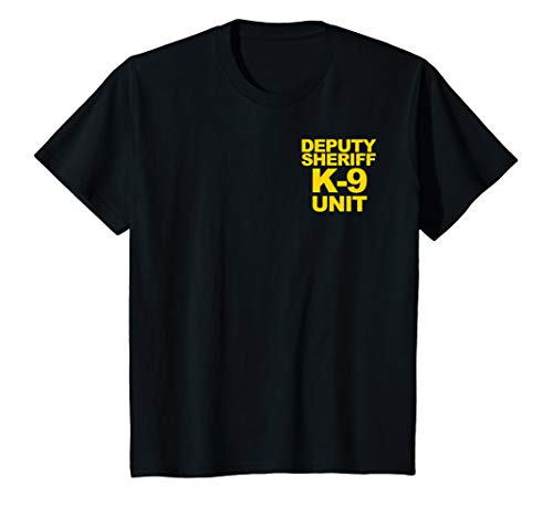 Kids Deputy Sheriff K9 Unit Police Youth T-Shirt