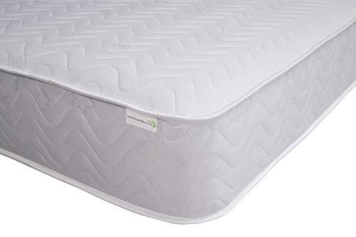 Starlight Beds - 4ft Small Double Mattress. Quilted Sprung Cool Blue Memory Foam Mattress. 4ft x 6ft3 (120cm x 190cm)