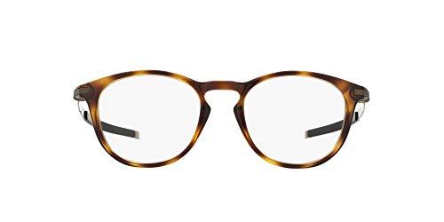 Ray-Ban 0OX8105 Lunettes de Soleil, Noir (Brown Tortoise), 50 Homme